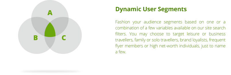 Dynamic user segments